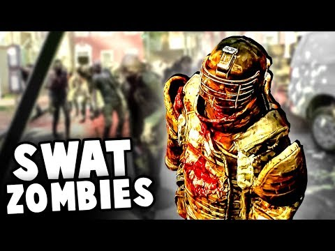 Unstoppable SWAT ZOMBIES Invade Our Fort! (Overkill's The Walking Dead Gameplay) thumbnail