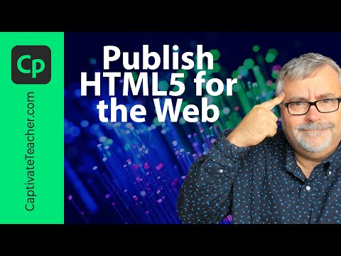 Publish Your Adobe Captivate Project as HTML5 for the Web