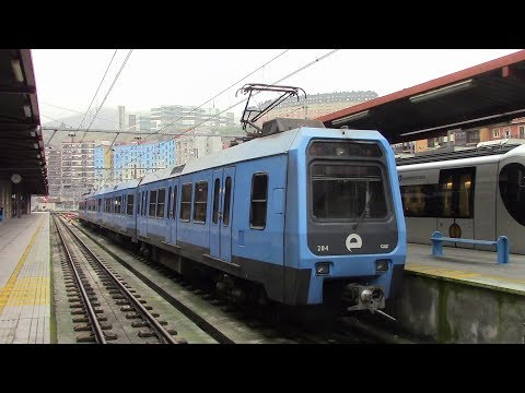 Euskotren Trena Línea E4 Kukullaga-Etxebarri ⇒ Bilbao Atxuri