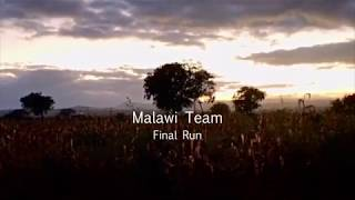 Malawian Team Wraps Up - the reason why they ran.