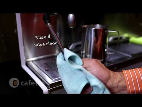 How to clean your Professional Espresso Machine with Cafetto