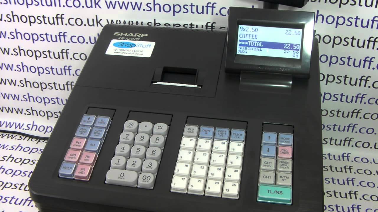 how to work at cash register
