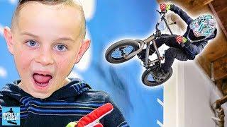 видео: НА BMX С БРЭИЛ ДРОПА!