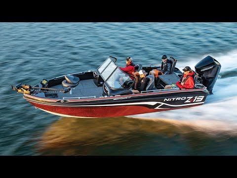NITRO ZV19 Sport Fish And Ski Boat