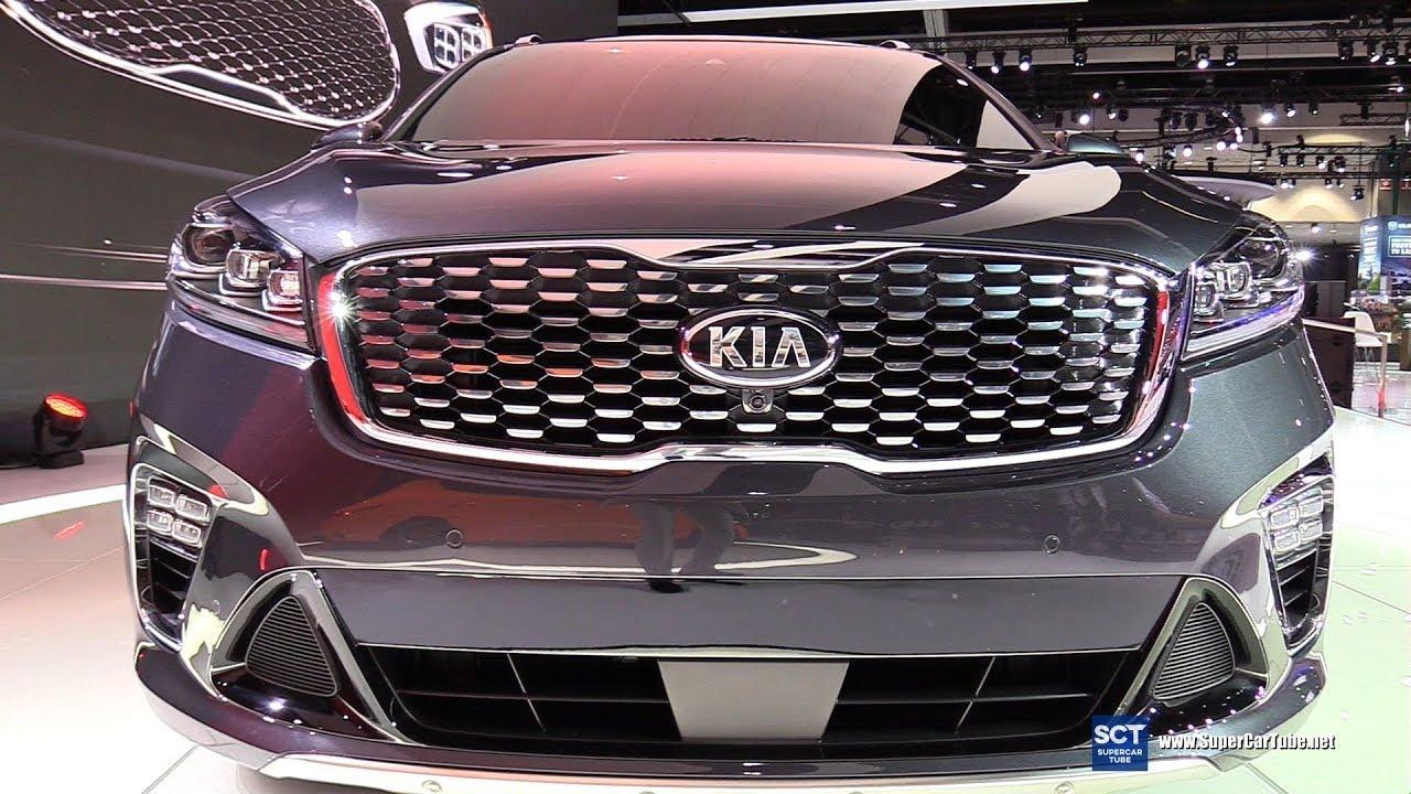 2019 Kia Soo Sxl V6 Exterior And Interior Walkaround Debut At 2017 La Auto Show