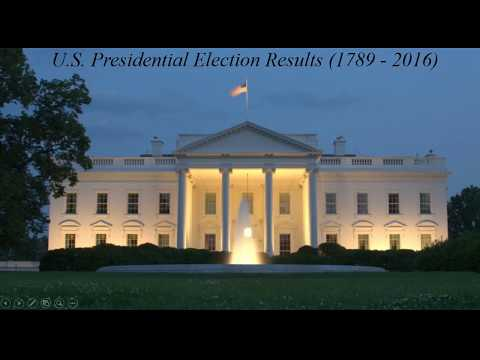 Presidential Election Results (1789 - 2016)