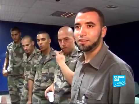 ISLAM - Muslim soldiers training in the desert and observing Ramadan.mp4