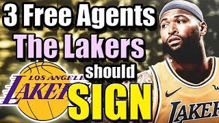 3 Free Agents The Los Angeles Lakers Should Sign After DeMarcus Cousins ACL Injury
