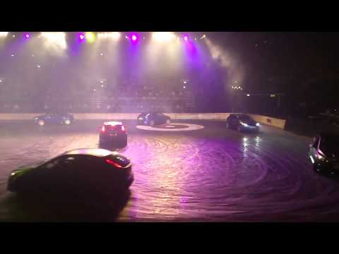 Top Gear Live Birmingham 2011 - Syoncronised Swimming