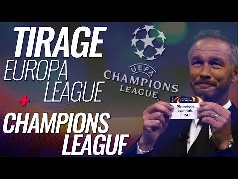 🔴 LIVE / DIRECT ▸ 🏆TIRAGE LIGUE DES CHAMPIONS + EUROPA LEAGUE EN DIRECT  !