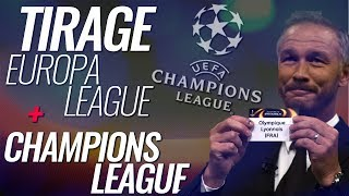 🔴 LIVE / DIRECT ▸ 🏆TIRAGE LIGUE DES CHAMPIONS + EUROPA LEAGUE EN DIRECT  !