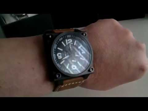 Uhr-kraftHélicop 23403/2 46 x 46 mm
