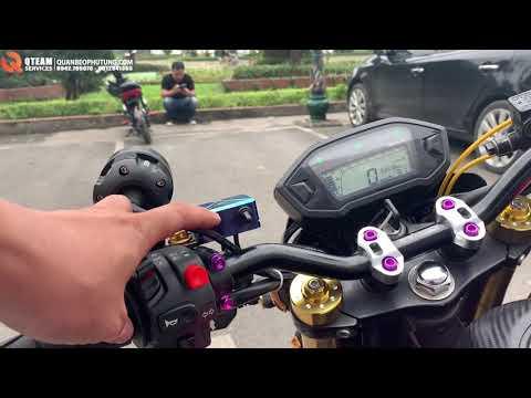 Honda MSX 125 Bị Xe Đạp Điện Trẻ Trâu Coi Thường ?  l Quân Béo Motor Review Honda MSX 125 Độ