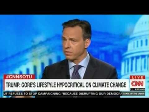CNN Jake Tapper interviews VP Al Gore for the first time in 17 years Trump Climate Election
