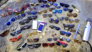 River Treasure: 2 iPhones, Mega Sunglasses, Jewelry and MOAR!