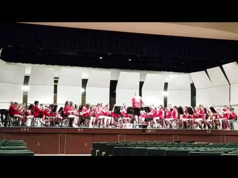 Indian Valley Middle School Band - Prophecy - Hershey 5/19/17