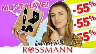 3 kosmetyki MUST HAVE z Rossmanna! Kup go na promocji -55%