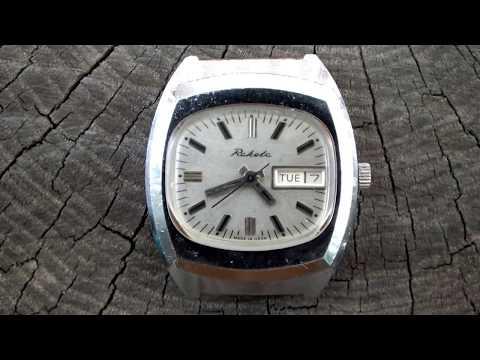 Vintage RAKETA TV Television (РАКЕТА) 17 Jewels Unique USSR Mechanical Watch.