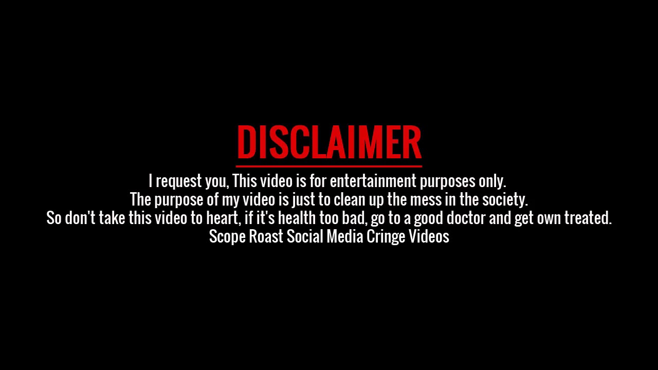 Disclaimer Rdlife Vines Intro Tiktok Other S Roasting Video 2020 Youtube