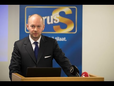 Sampo Terho esittelee Uusi alku-ohjelman PS:n uudistamiseksi
