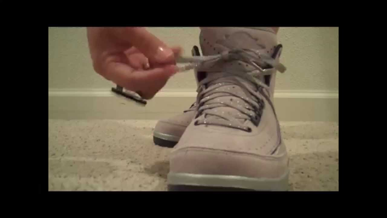 8233a09b7739ec Vashtie Kola x Air Jordan Retro 2s (lavender deep purple) - YouTube