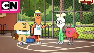 Apple & Onion | Onion's Basketball Talents | Cartoon Network