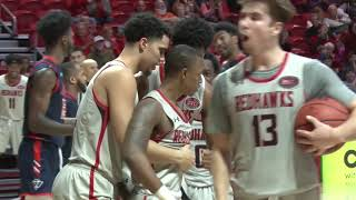 HIGHLIGHTS | SEMO MBB erases 16-point deficit to top UT Martin 74-69 in overtime