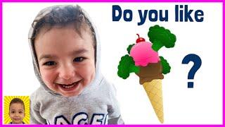 Do You Like Broccoli Ice Cream Song | Nursery Rhymes & Kids Songs