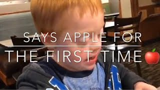 Toddler With Down Syndrome Says a Word for the first Time! / VlogTober