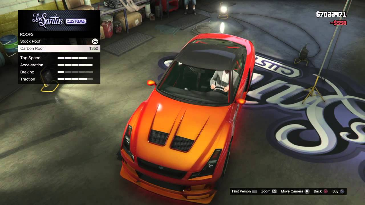Best Custom Cars Gta V