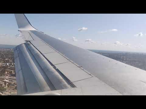 Посадка самолета в Турбулентность. Одесса.