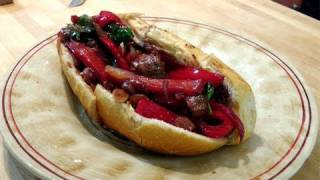 Sausage And Peppers - Italian Style - Recipe By Laura Vitale - Laura In The Kitchen Ep. 73