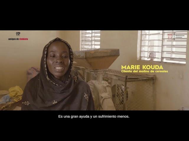 1  MARIE KOUDA, clienta del molino de cereales