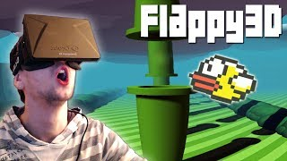 FLAPPY BIRD WITH THE OCULUS RIFT | Flappy3D