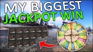 16,000 SCRAP JACKPOT at the BANDIT CAMP CASINO! - Rust Solo #5