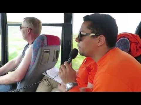 MSC Excursions, Tour Escort working as a translator in Iceland - www.giramundos.com