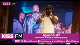 Nyashinski performs at Bien
