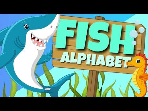 Fish Alphabet 🐠