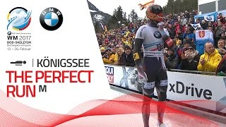 The Perfect Run | Men's Skeleton | BMW IBSF World Championships 2017
