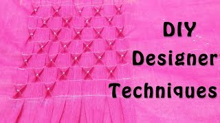 DIY Sewing Techniques | Designer Smocking Technique