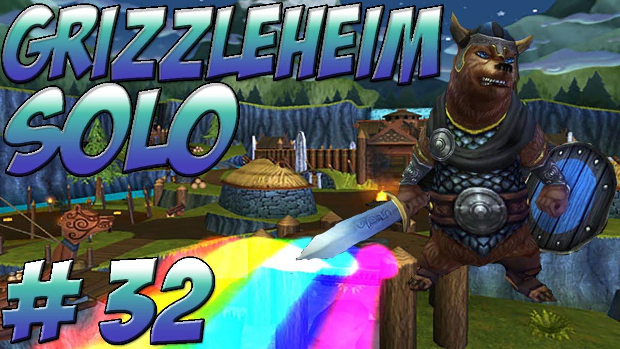 Bear king of grizzleheim wizard101