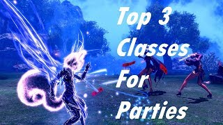 Blade & Soul - Top 3 Classes For Parties