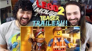 THE LEGO MOVIE 2: The Second Part – Official Teaser TRAILER REACTION!!!