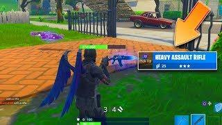 """""""Heavy AR Gameplay"""" *NEW* Fortnite AK Gameplay! Fortnite Update 6.22 Heavy Assault Rifle Gameplay"""