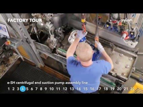 2016 Xylem Lowara manufacturing facility in Montecchio Maggiore, Italy