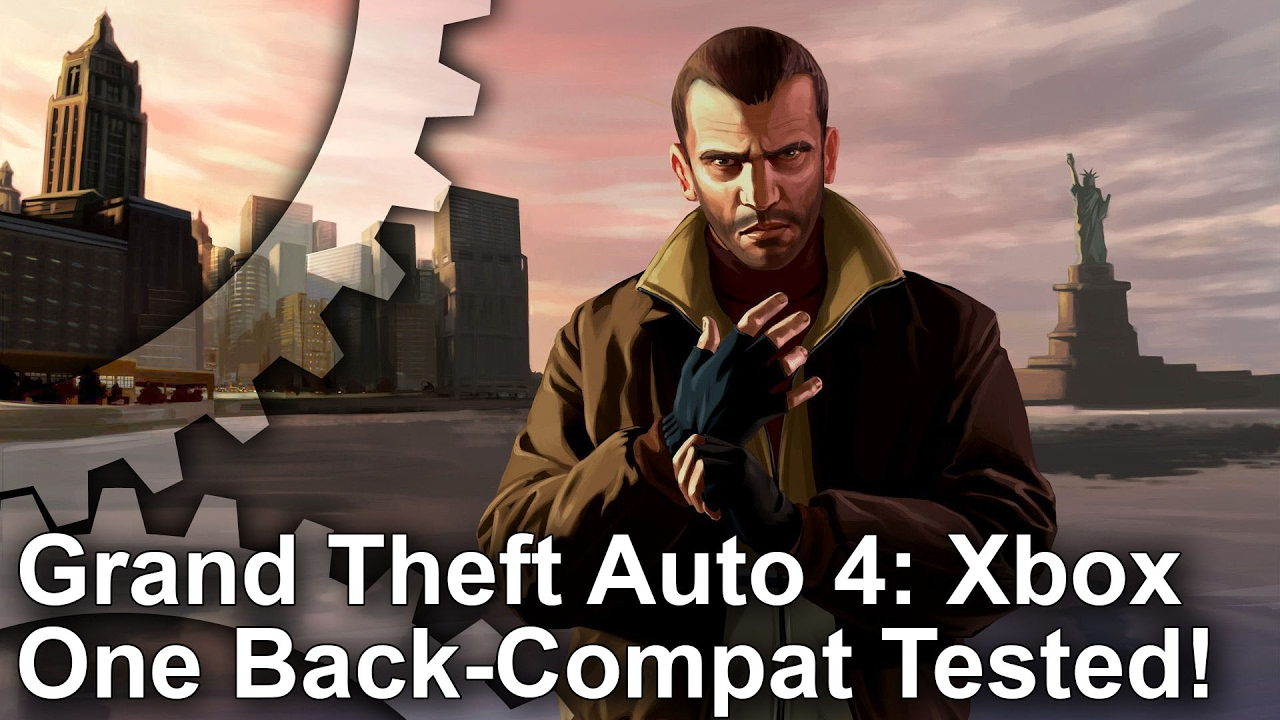 GTA 4 may have a better frame-rate on Xbox One, but you're