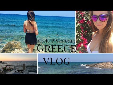 GREECE VLOG | Crete & Santorini | TRAVEL