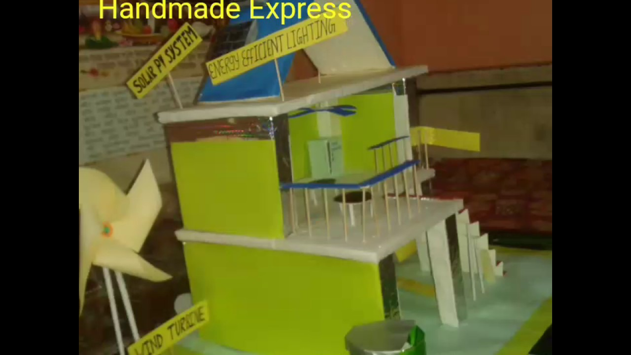 Eco friendly house model green house model green city for How to make house green