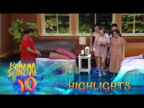 Banana Sundae: BananaKada gets reprimanded by her parents for being untidy (Part 1)