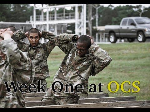 Week 1 At OCS
